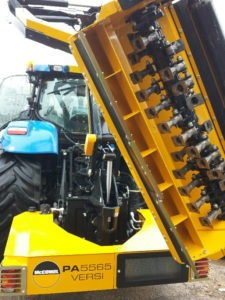 NewHolland with Flail